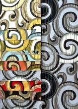 Geometric Curtain Drapery Fabrics