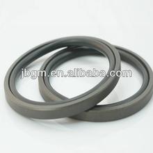Pneumatic cylinder piston seal