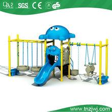 Guangzhou Kindergarten Plastic Swing Set