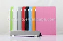 4 folding smart cover for iPad 5 for iPad AIR smart cover leather case