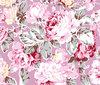 cotton flannel fabric / big flower