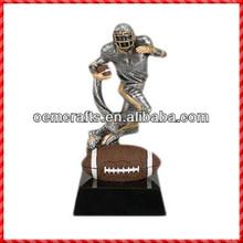 2014 Hot sale custom resin fantasy American Football Trophy