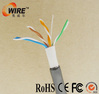 100Ft Cat5e Outdoor Bulk Cable 100 ft cat5 cat5e utp color code cable
