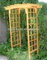 La decoración del jardín! De madera del arco de jardín diseños
