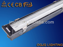 high quality outdoor lighting, T5 2x14w waterproof fluorescent light fixture IP67