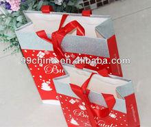 Christmas gift paper bag