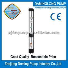6 pollici di diametro acqua pompa sommersa 150qj2020- 18.5kw 25hp 280m testa 20m3/h flusso