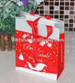 Papel de regalo navidad bolsa