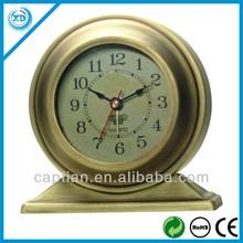 alarm hotsale antique brass table clock