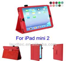 Leather Case for iPad mini 2, Stylish Book Folding Stand Flip Case for iPad mini 2