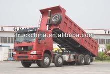 China Howo 8*4 dump truck 40 tons tipper truck