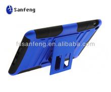 Luxury design case for ipad mini silicon case/plastic silicon hybrid case for protecter ipad mini