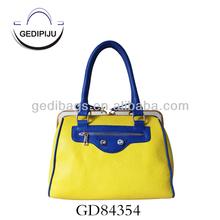 WOMEN Girl Korea Celebrity Handbags satchel tote bag with clip closure
