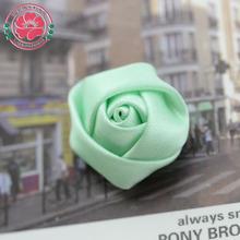 1-559 Handmade polyester rose flower ribbon flowers bows rosettes