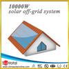 400W 4x 100W PV Solar Panel with 20A MPPT solar system RV