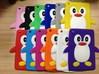 Penguin design silicone case for ipad mini 3D animal shape