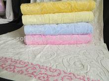 towel velour jacquard stock bath