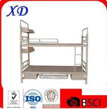 steel pipe bunk bed