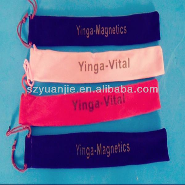 Hot selling velvet school pen bag from china