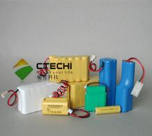 nicd aa 700mAh 9.6V toy car battery pack