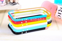 Colorful PC Hybrid Bumper Case for Samsung Galaxy S4 I9500