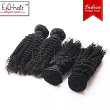 Hot selling tangle free hot sale virgin indian deep kinky curly hair