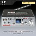 Armários de madeira para o amplificador yt-k36 com usb/tf/karaoke