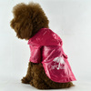 Deeppink Dog Raincoat for Small Dogs Clothing [FD105B]