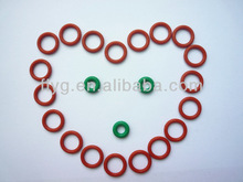 Green Polyurethane O Ring,Red FDA Silicone Ring,O-ring in China