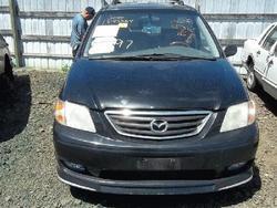 2000 Mazda Mpv Seat Belt, Rear