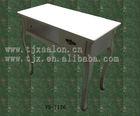 White paint manicure table