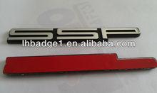 ABS badges, badges for cars, abs chromed badges