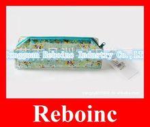 New design clear pinky pencil bag vinyl with zipper Reboinc-S242