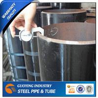 hot rolled black mild steel pipe/tube