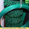 PVC coated or Electro galvanized diamond wire mesh fence