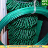 PVC coated or Electro galvanized diamond wire mesh fence