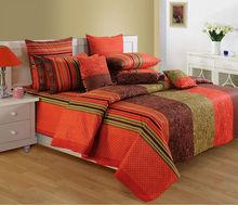 Salona Bichona 100% Cotton Double Bedsheet