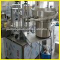 Llenado de aceite de oliva y que capsula línea de Shanghai fábrica