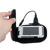 fashionable and portable travel solar charger bag with Li-ion battery 2200mAh
