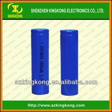 Li-ion 3.7volt 2.6Ah Rechargeable Batteries