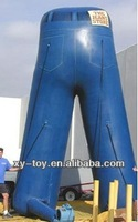 Custom inflatable jeans inflatable pants