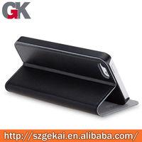 bulk case flip pu leather case for iphone 5c manufactory