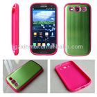 Soft TPU simple innovative products for Samsung galaxy i9300 cover case