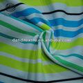 新しいファッションカラフルなボーダーニット生地のためのベルベットのサルワールスーツをスキューバ
