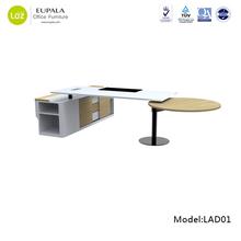 Modern office executive desk/Ergonomic office furniture/Round manager desk
