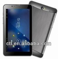 7 inch dual core Pad Smart Phone MTK6577 1.0GHZ 512MB RAM 4GB ROM 3G Wifi GPS Bluetooth tablet 1024 x 600p High Resolution