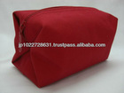 Soft cosmetic cases for women ( 100% cotton canvas )