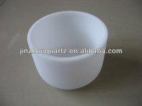 opaque quartz container for monocrystalline silicon
