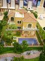 Villa& maison privée conception miniature étiqueteuse./personnalisé la conception architecturale maquette étiqueteuse.