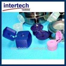 Injection plastic bottle flip top cap mould